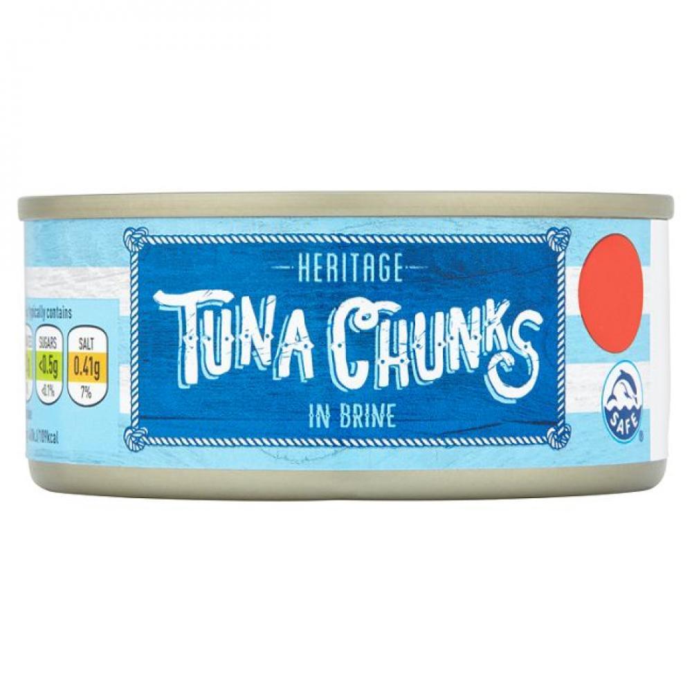 Heritage Tuna Chunks in Brine 160g