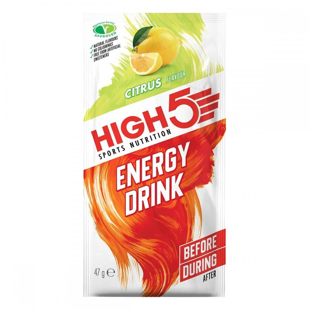 High 5 Sports Nutrition Energy Drink Citrus 47 g
