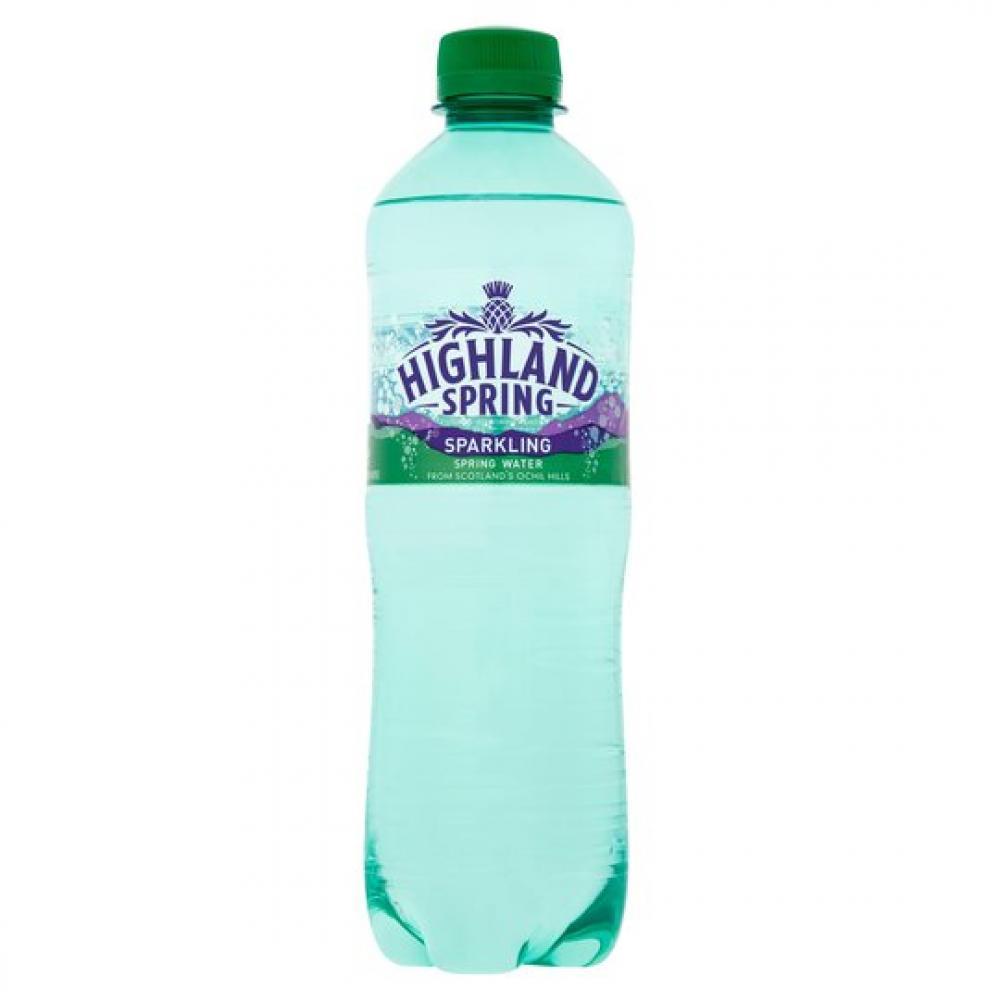 Highland Spring Sparkling Spring Water 500ml