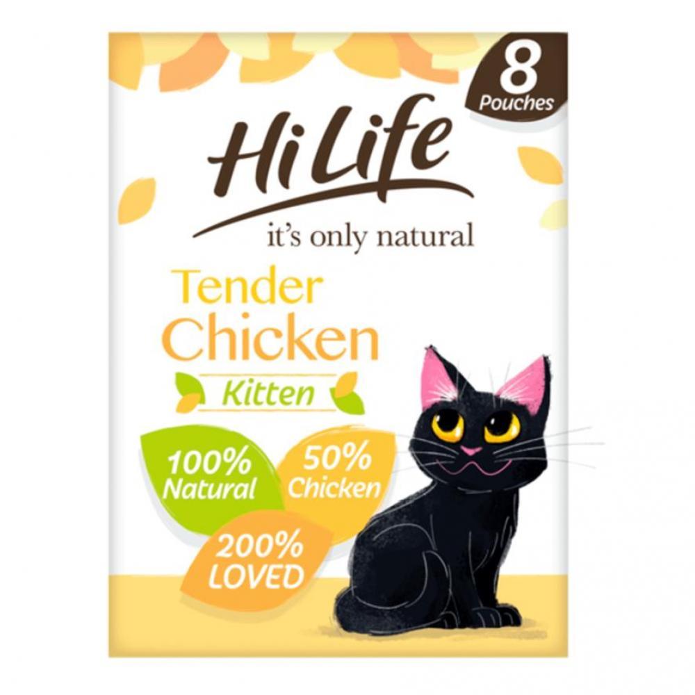 HiLife Kitten Food Tender Chicken LUCKY DIP 70 g
