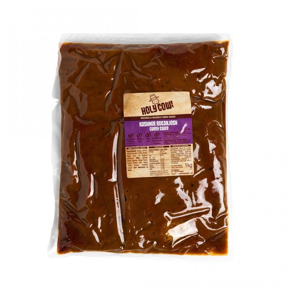 CASE PRICE  Holy Cow Kashmir Rogan Josh Curry Sauce 3 x 1kg