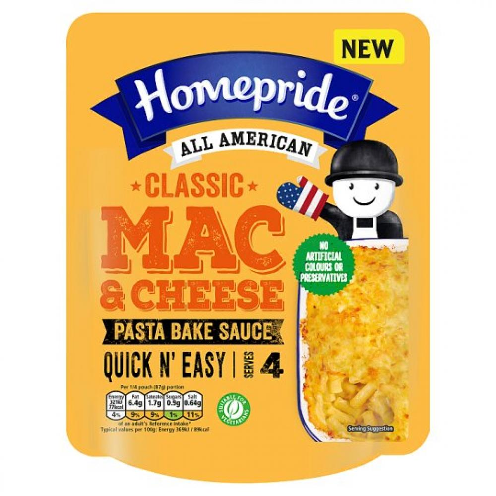 Homepride All American Classic Mac And Cheese 350g