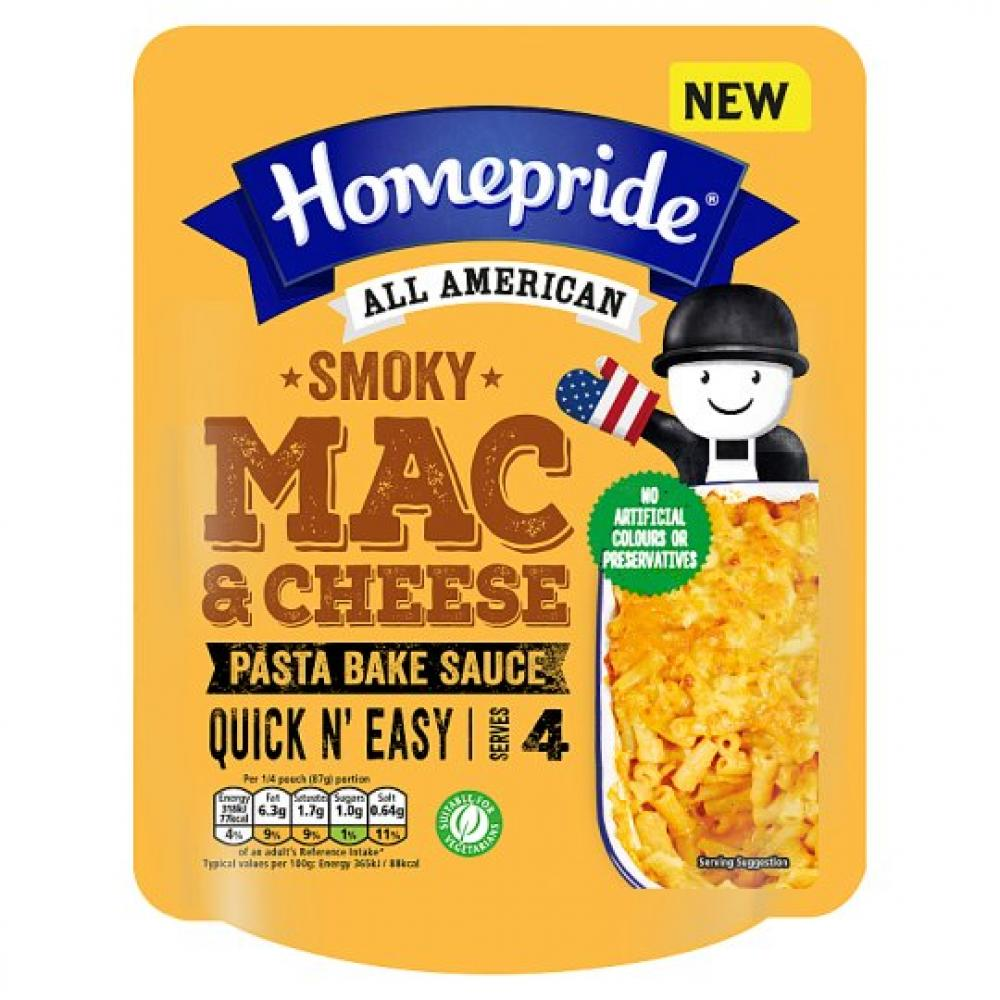 Homepride All American Smoky Mac And Cheese 350g