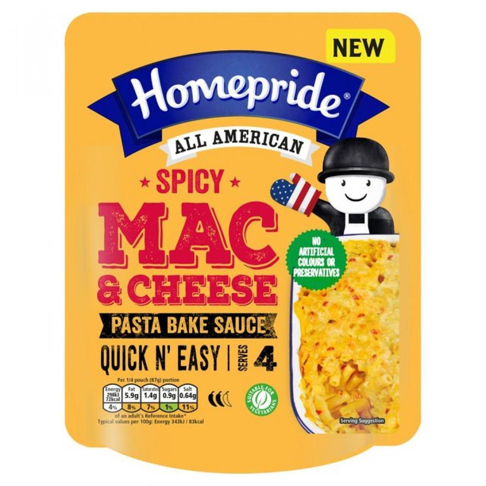 Homepride All American Spicy Mac And Cheese 350g