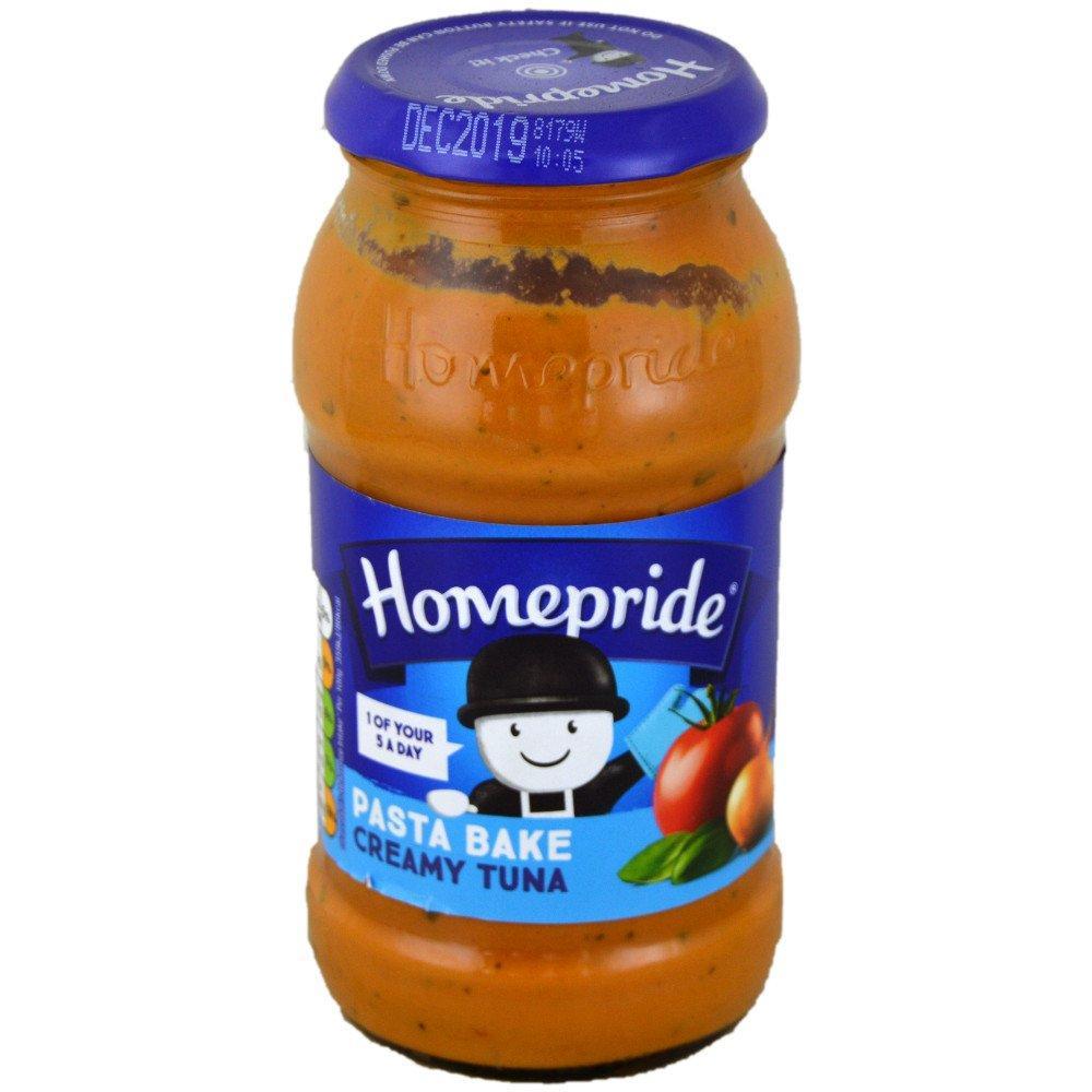 Homepride Creamy Tuna Pasta Bake Sauce 485g