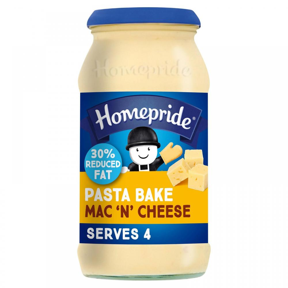 Homepride Pasta Bake Mac N Cheese 485g