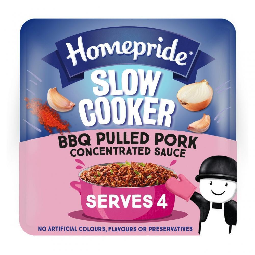 Homepride Slow Cooker BBQ Pulled Pork Sauce 150g
