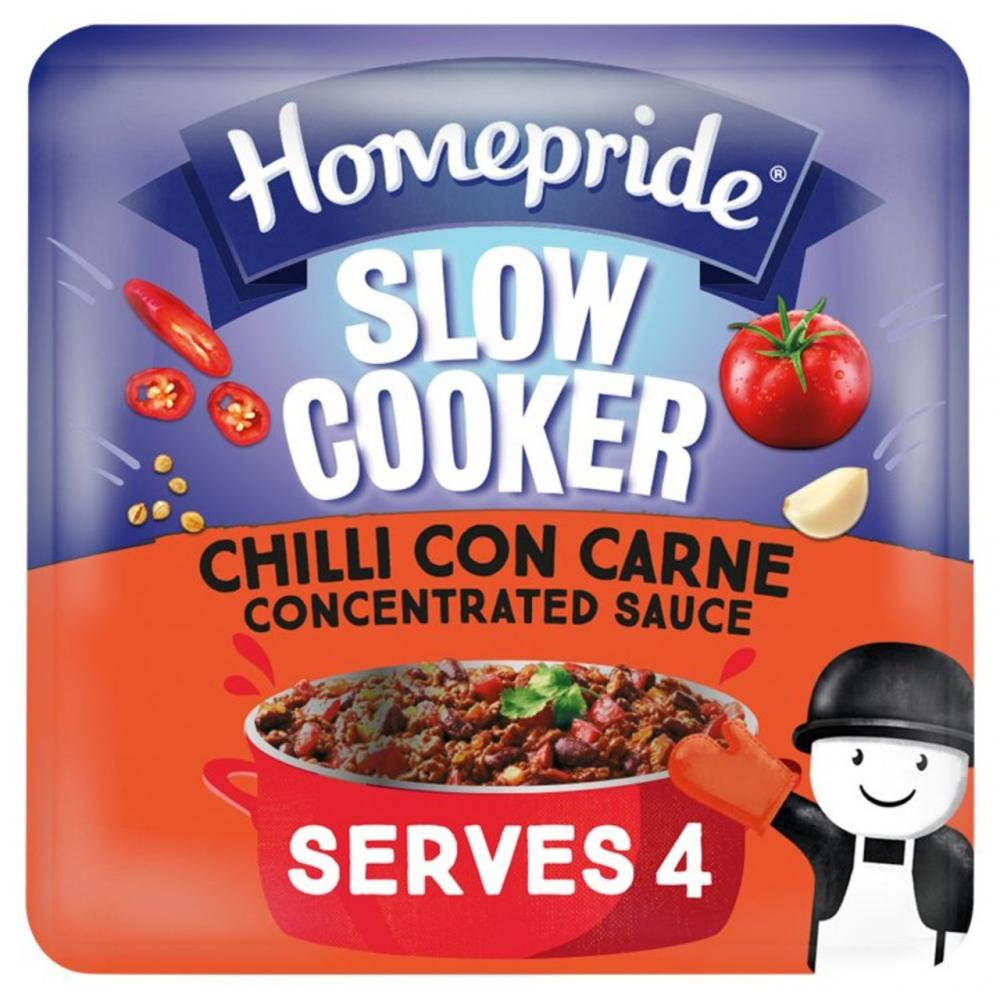 Homepride Slow Cooker Chilli Con Carne Concentrated Sauce 170g
