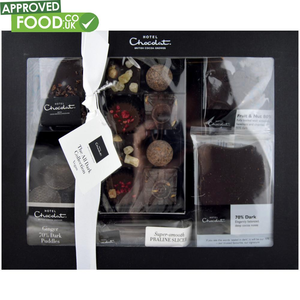 Hotel Chocolat All Dark Gift Hamper Chocolate 370g