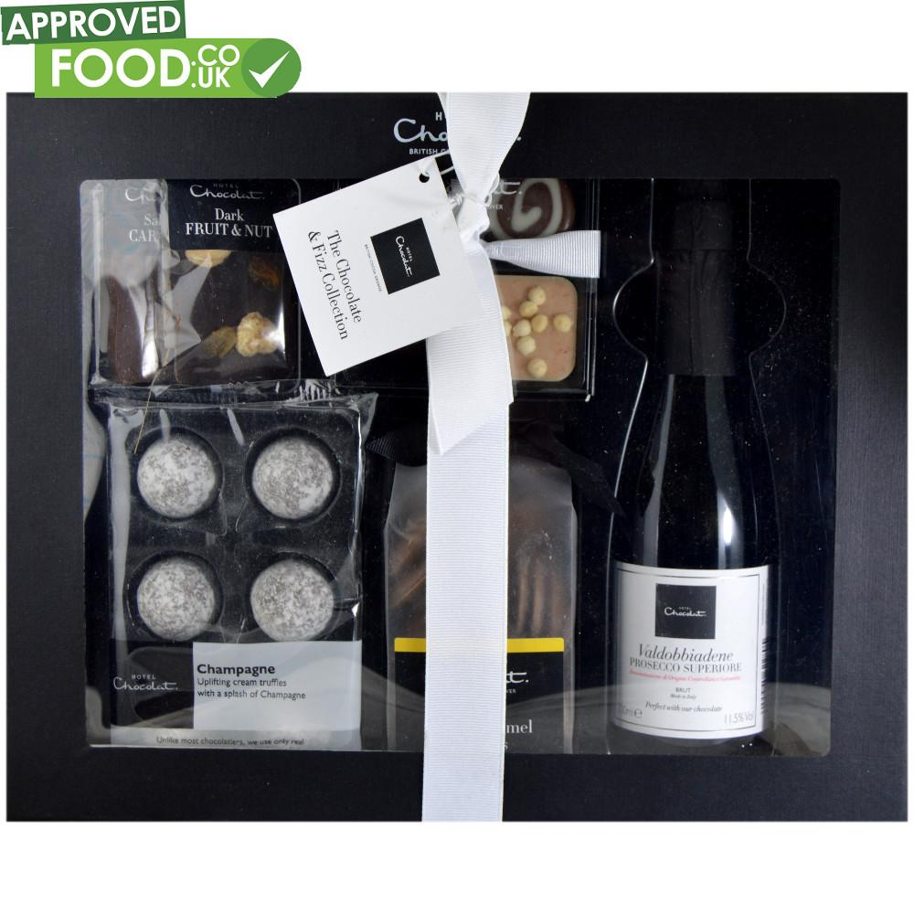 Hotel Chocolat The Chocolate And Fizz Hamper Collection 270g
