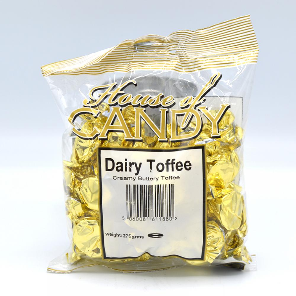 House Of Candy Dairy Toffee 275g