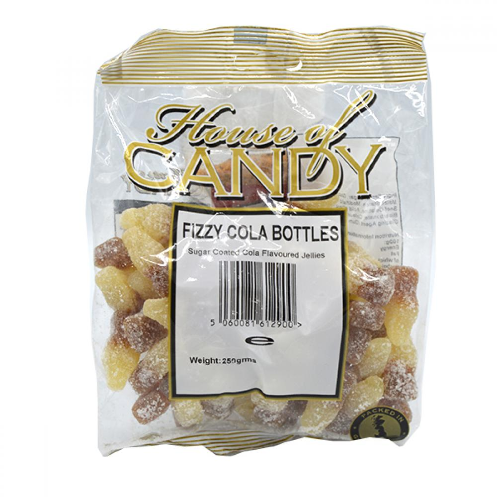 House Of Candy Fizzy Cola Bottles 250g