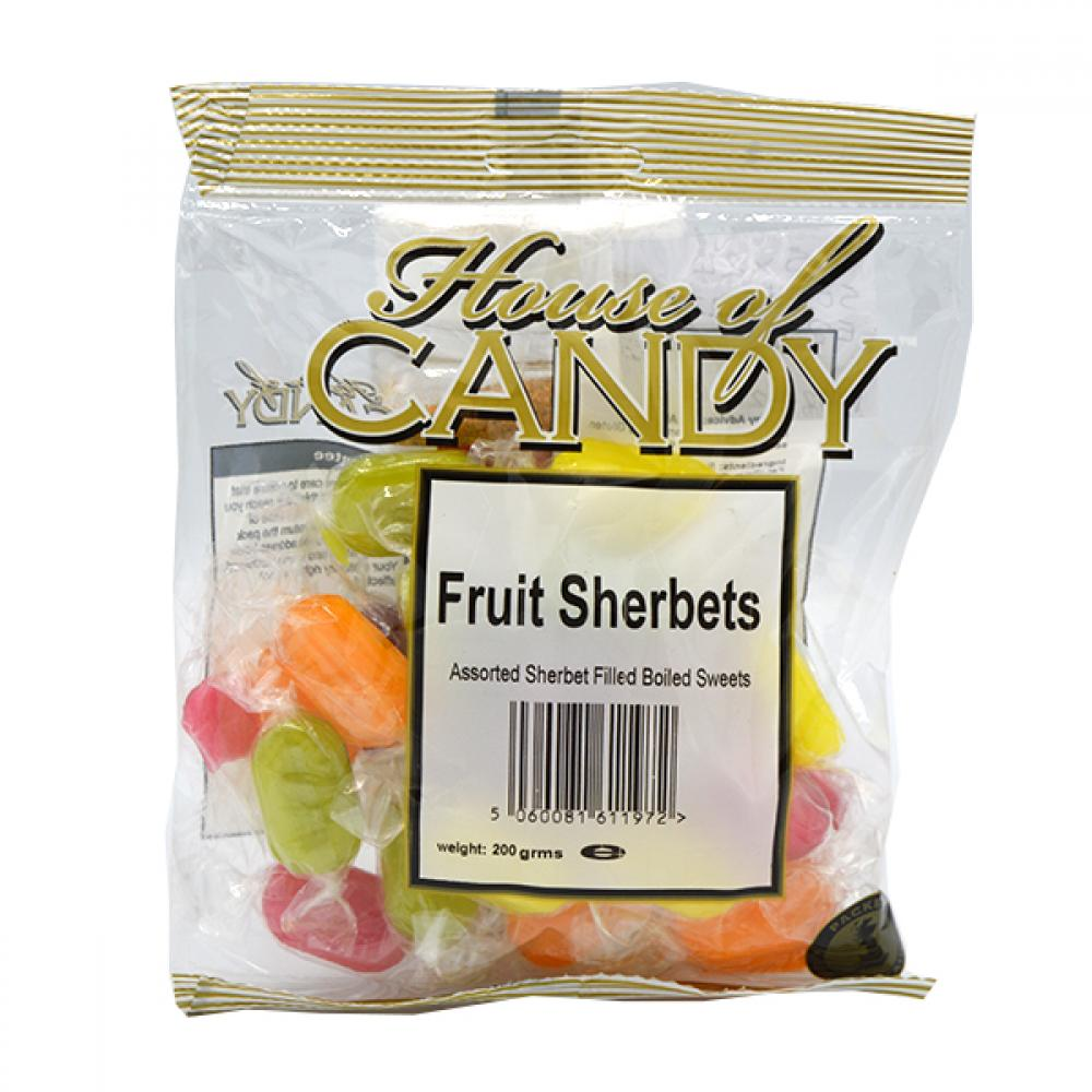 House Of Candy Fruit Sherbets 200g