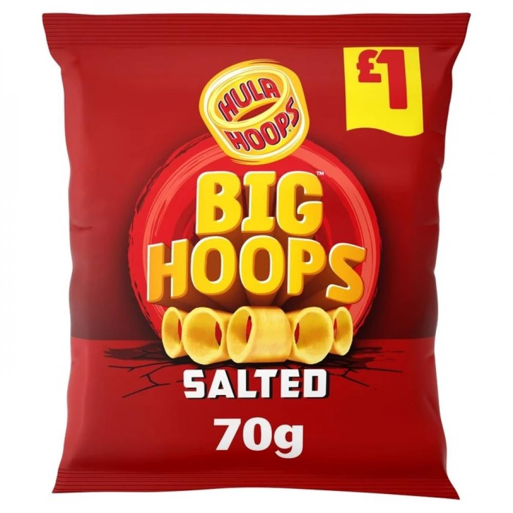 Hula Hoops Big Hoops Salted 70g