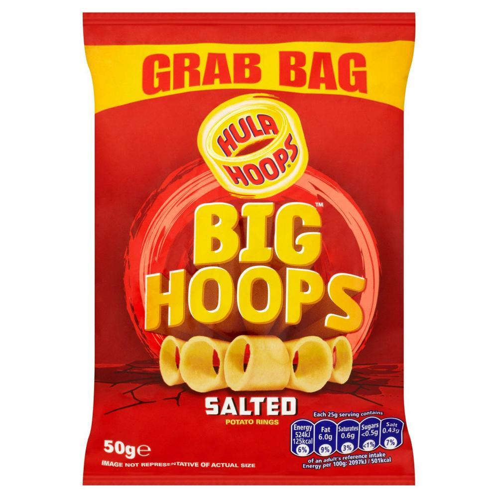 Hula Hoops Salted Grab Bag 50g
