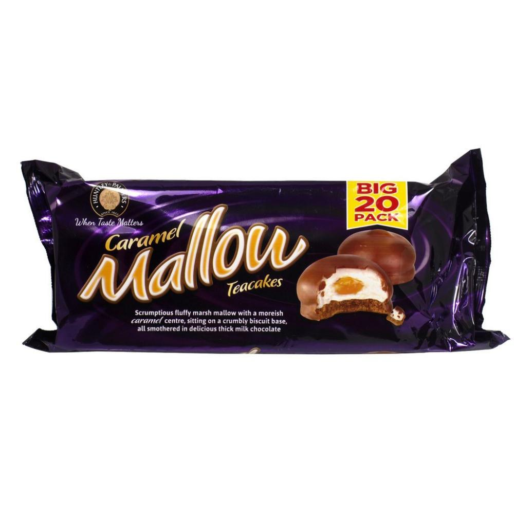 Huntley and Palmers Caramel Mallow Teacakes 250g