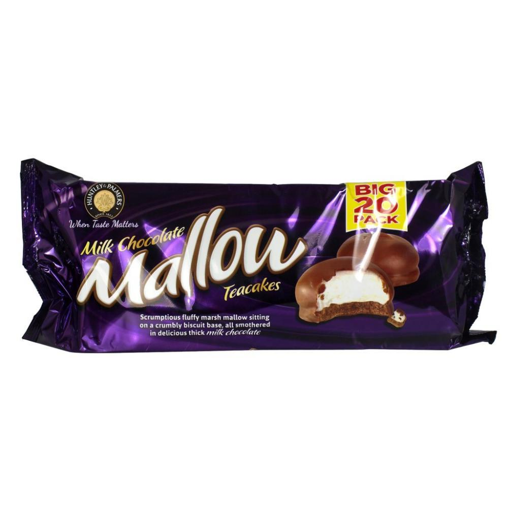 Huntley and Palmers Milk Chocolate Mallow Teacakes 250g