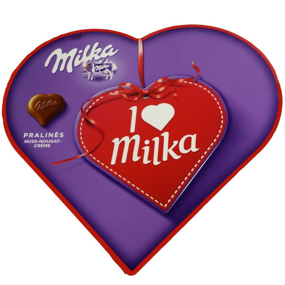 I Love Milka Pralines 50g