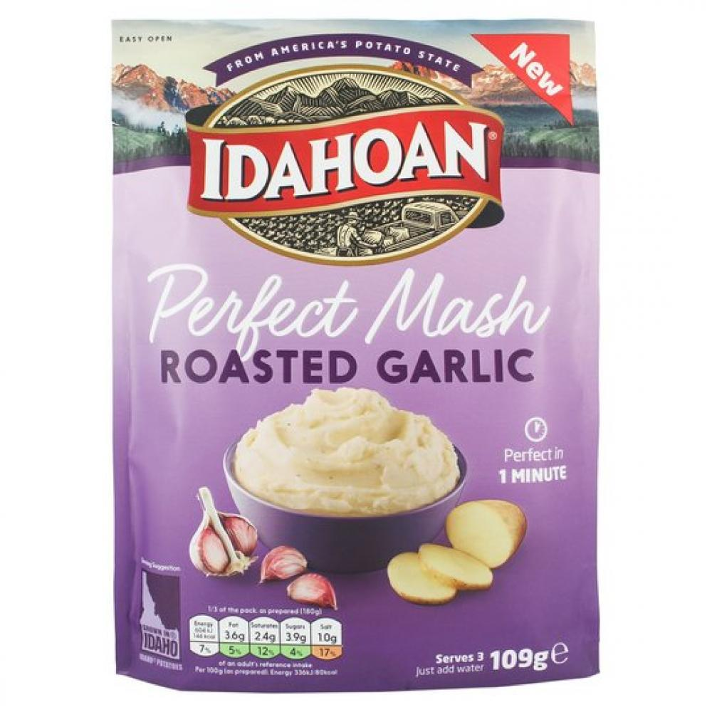 Idahoan Perfect Mash Roasted Garlic 109g