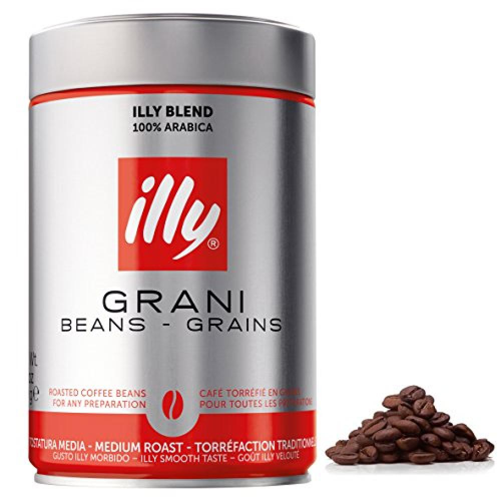 Illy Grani Medium Roasted Coffee Beans 250g No cap