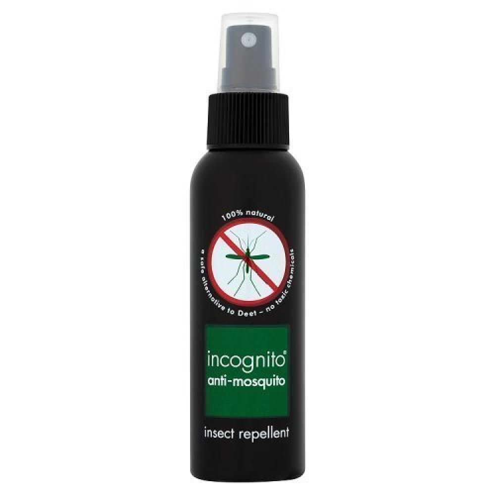 Incognito All Natural Deet Free Anti Mosquito Insect Repellent Spray 100ml