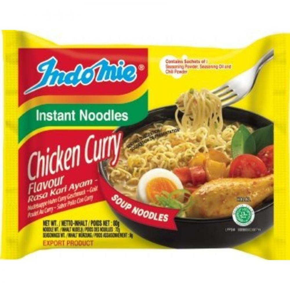 Indomie Chicken Curry Instant Noodles 80g
