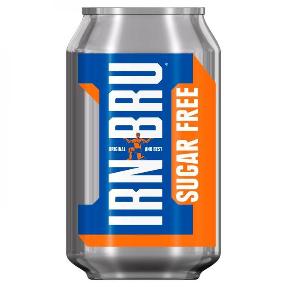 Irn Bru Sugar Free 330ml