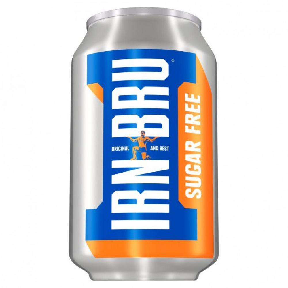 Irn Bru Sugar Free Soft Drink 330ml