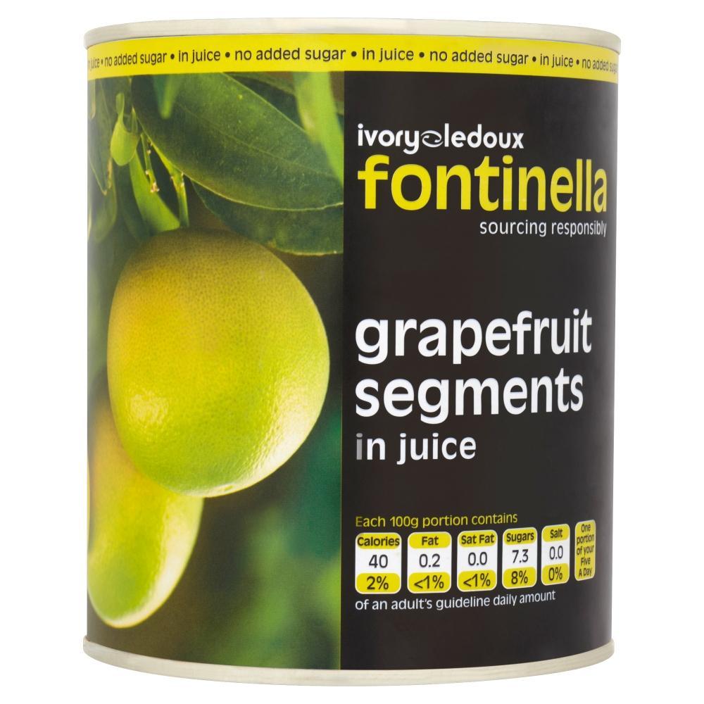 Ivory Ledoux Grapefruit Segments in Juice 540g