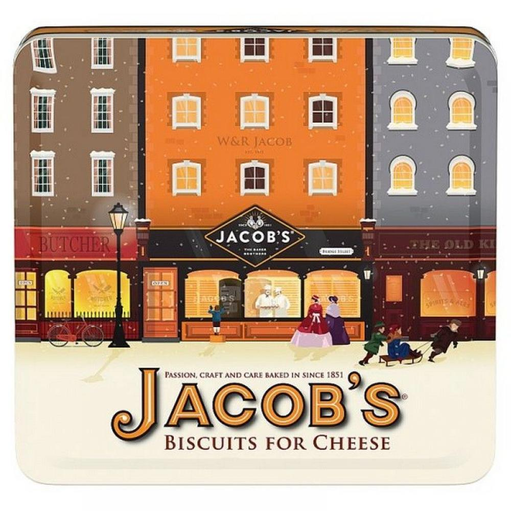 Jacobs Biscuits For Cheese Heritage Tin 300g