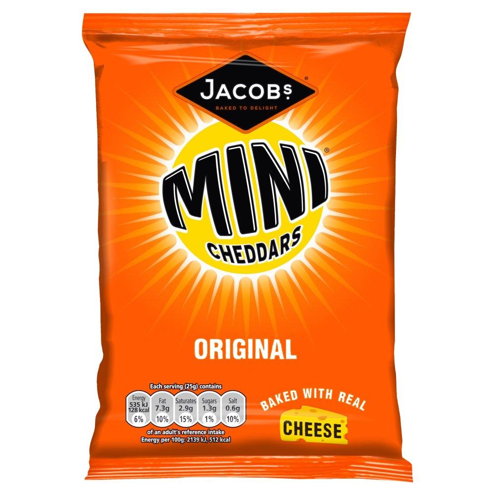 Jacobs Mini Cheddars Original 50g