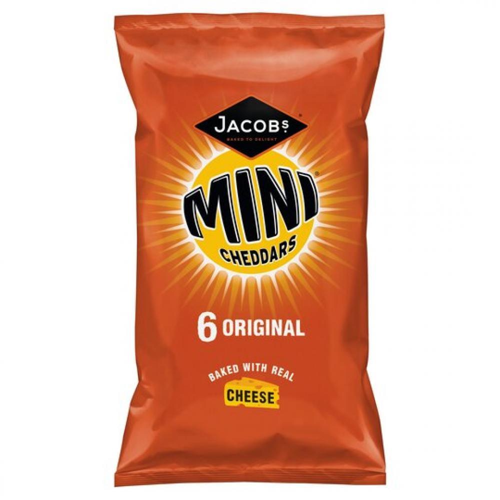 Jacobs Mini Cheddars Original 6 x 25g