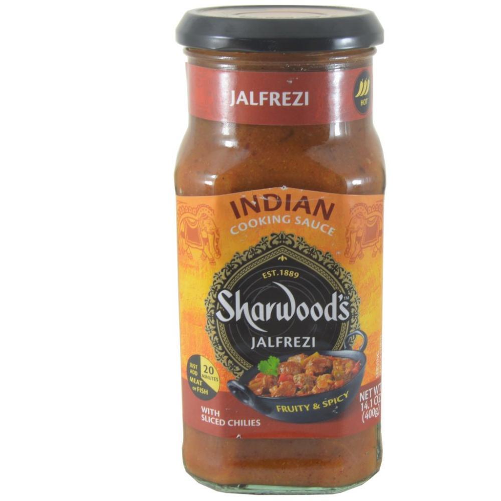 Sharwoods Jalfrezi Cooking Sauce 400g
