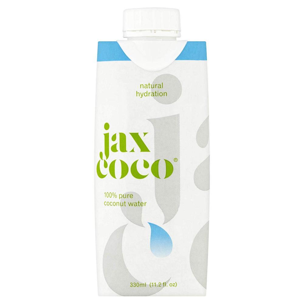 Jax Coco 100 Pure Coconut Water 330ml