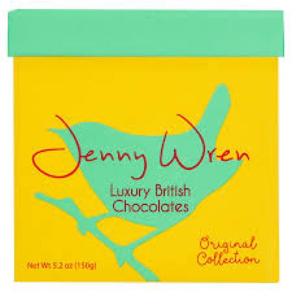 Jenny Wren Luxury British Chocolates 150g