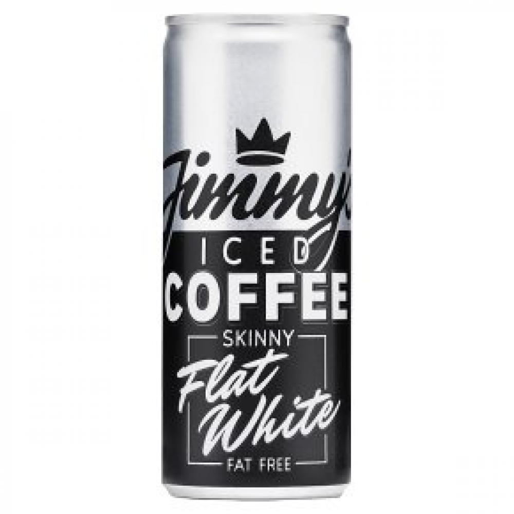 Jimmys Iced Coffee Skinny Flat White 250ml
