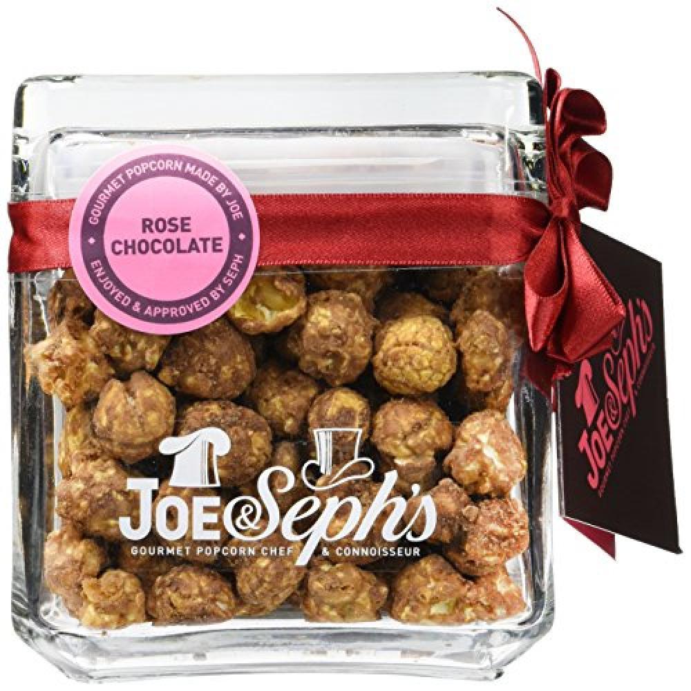 Joe and Sephs Rose Chocolate Popcorn 120g