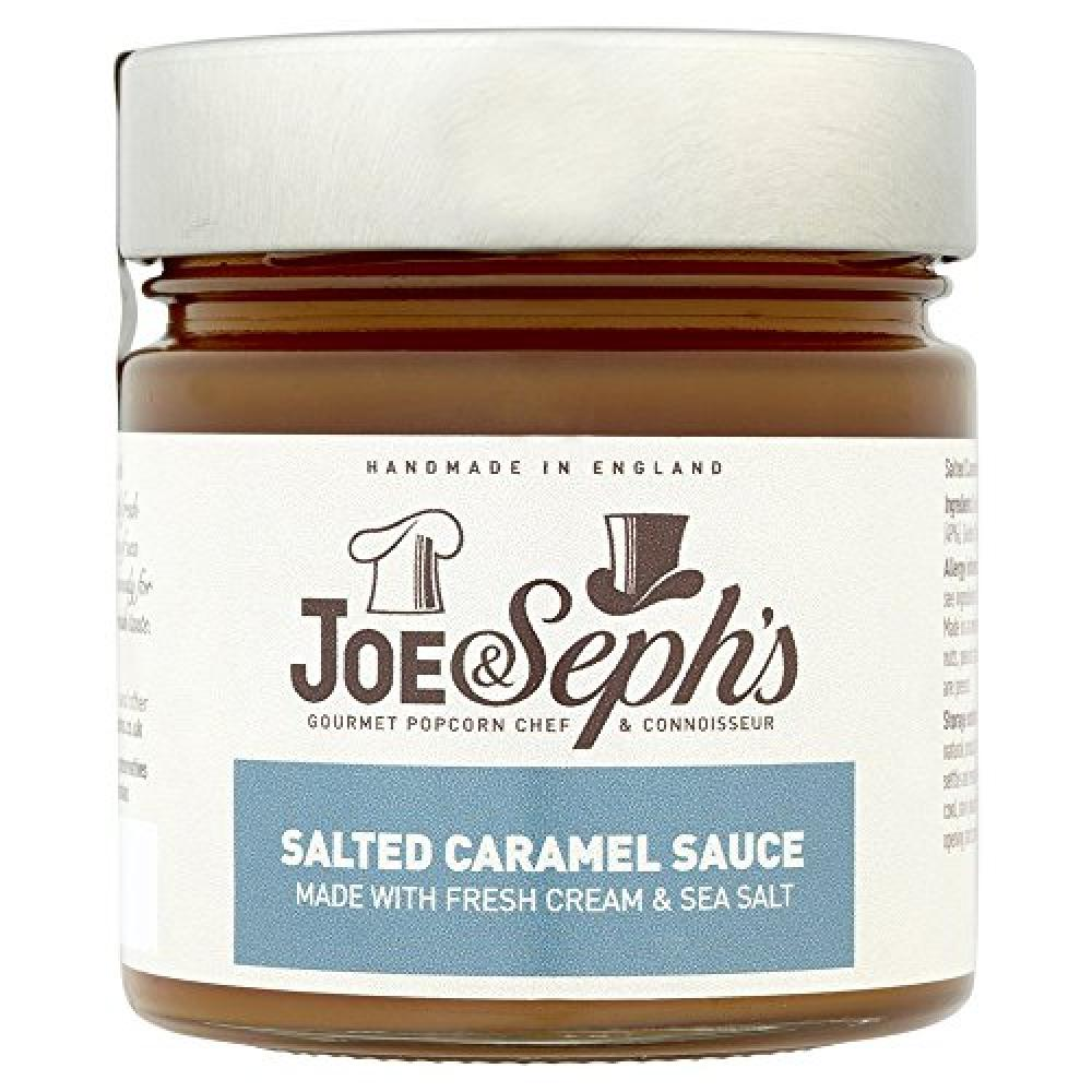 Joe and Sephs Salted Caramel Sauce 230g