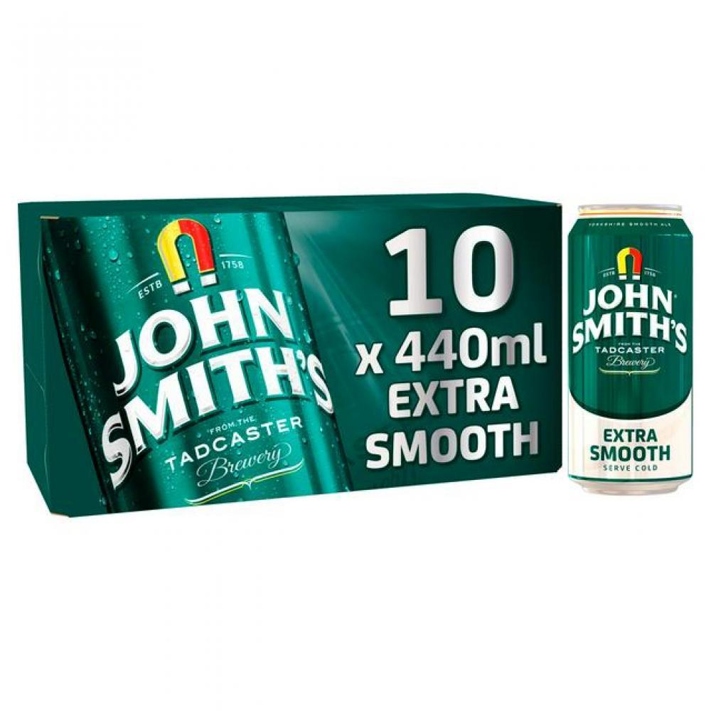 John Smiths Extra Smooth 10 x 440ml