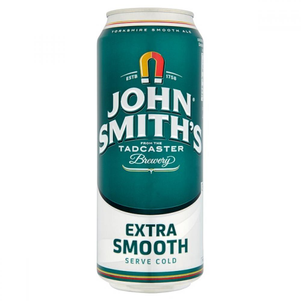 T  John Smiths Extra Smooth Can Beer 440ml