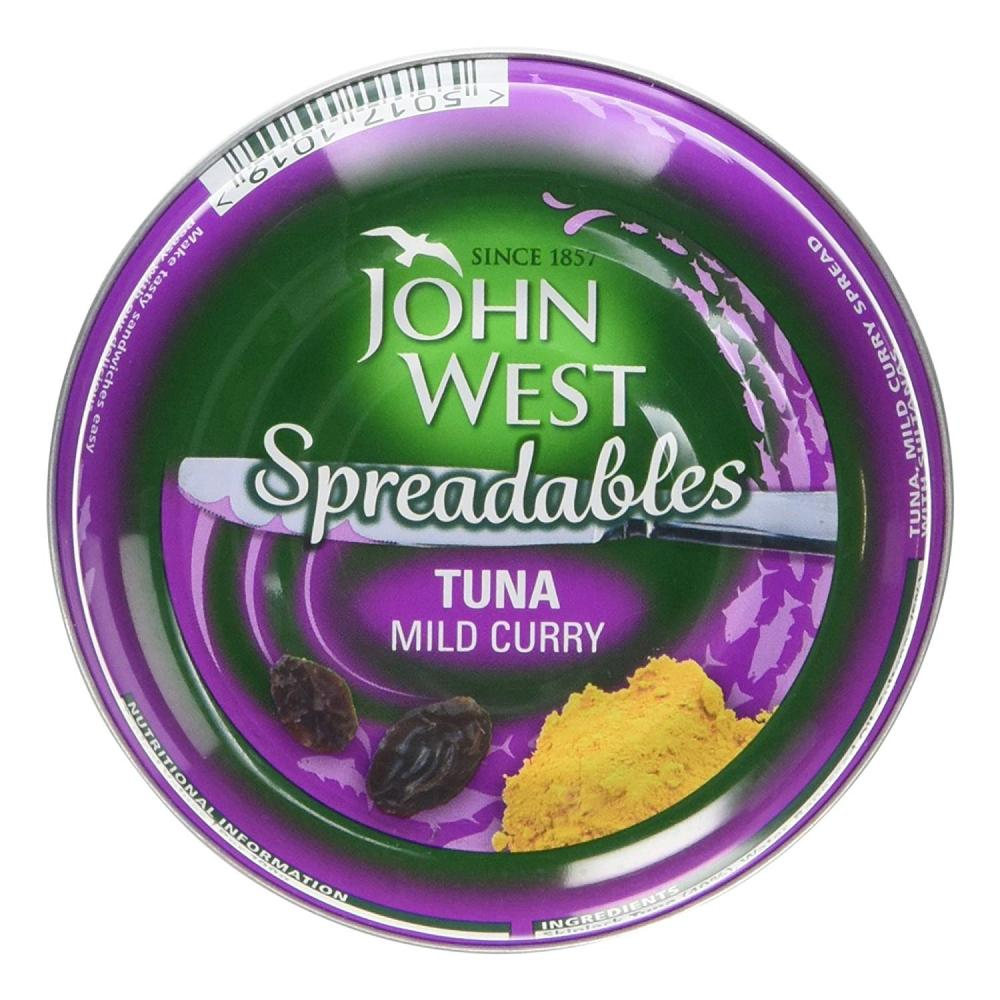 John West Spreadables Tuna Mild Curry 80g