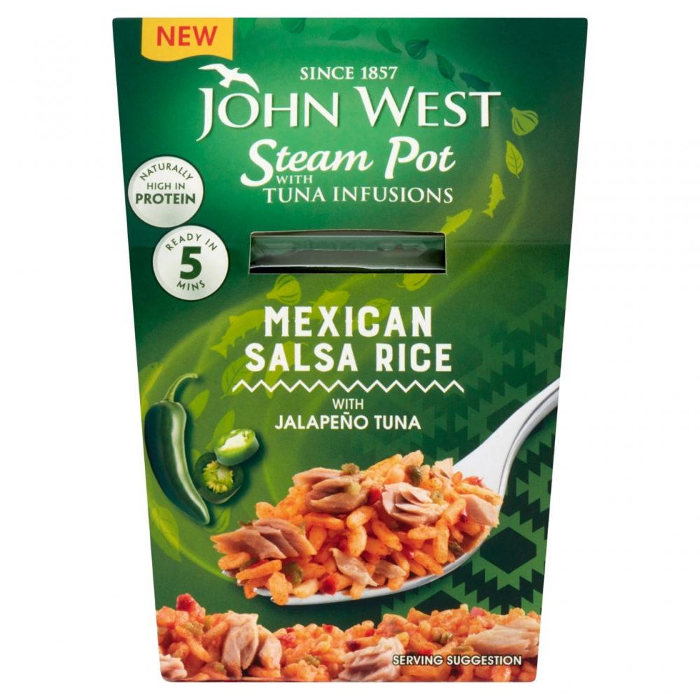 John West Steam Pot Mexican Salsa Rice 140g