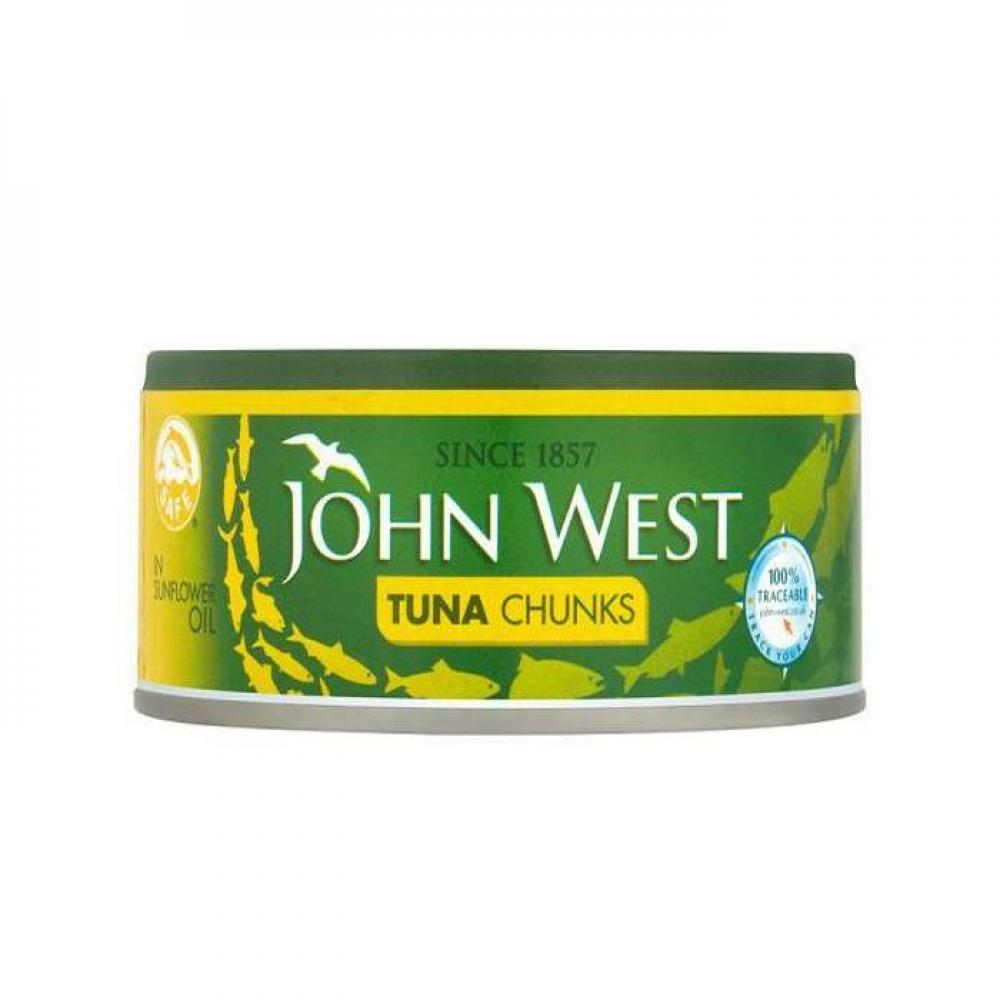 John West Tuna Chunks In Sunflower Oil 200g
