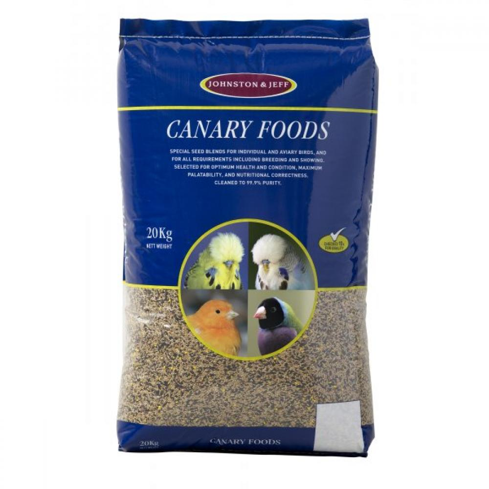 Johnston and Jeff Favourite Mixed Canary Food 20kg