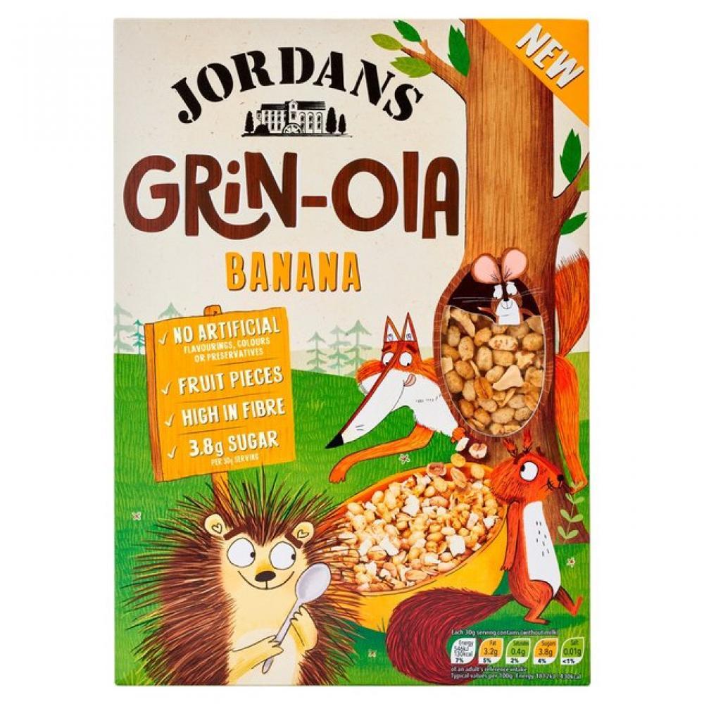 Jordans Kids Grinola Banana 400g