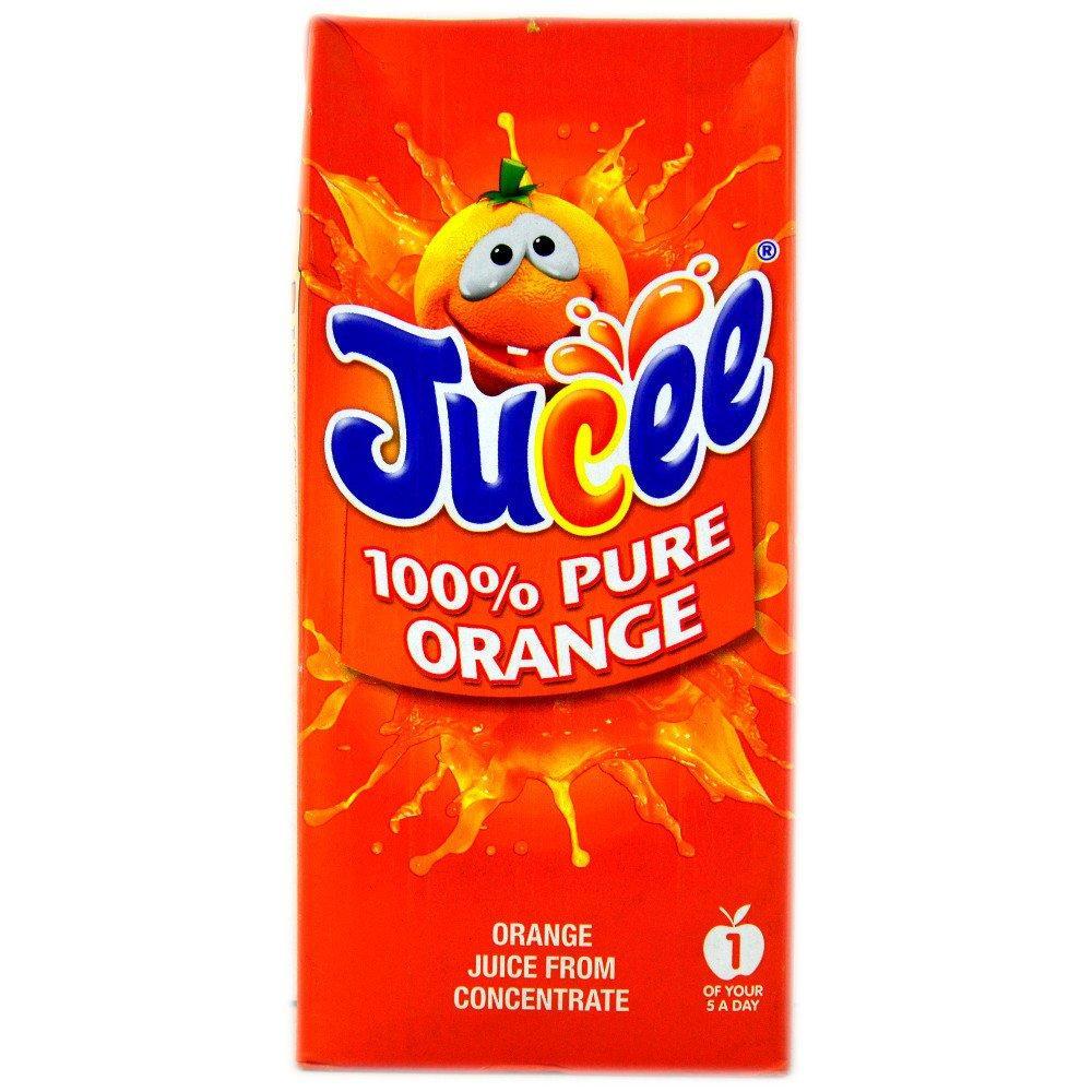 Jucee 100 Pure Orange Juice 1l