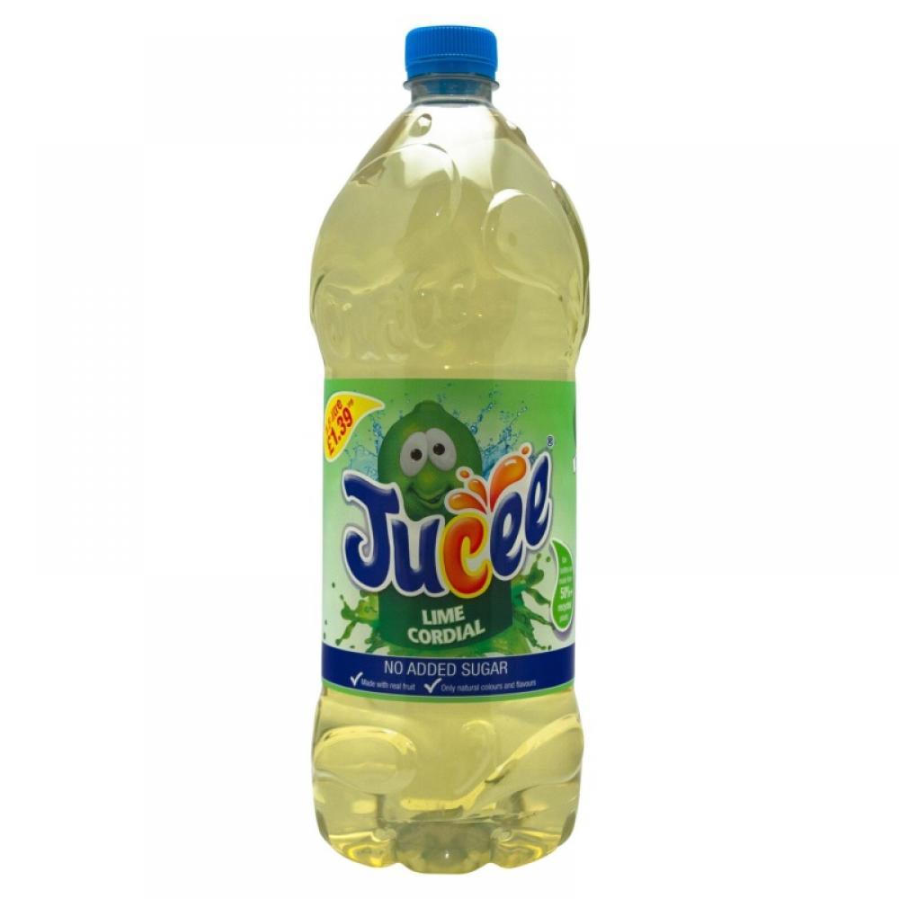 Jucee Lime Fruit Cordial 1500ml