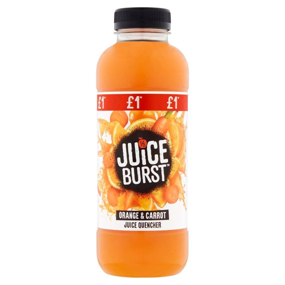 Juice Burst Orange and Carrot 500ml