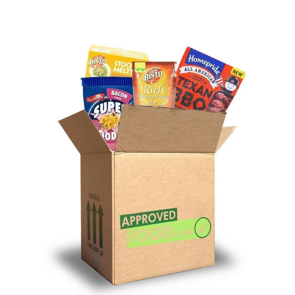 JUNE SPECIAL  Approved Food XXL Cupboard Filler Box