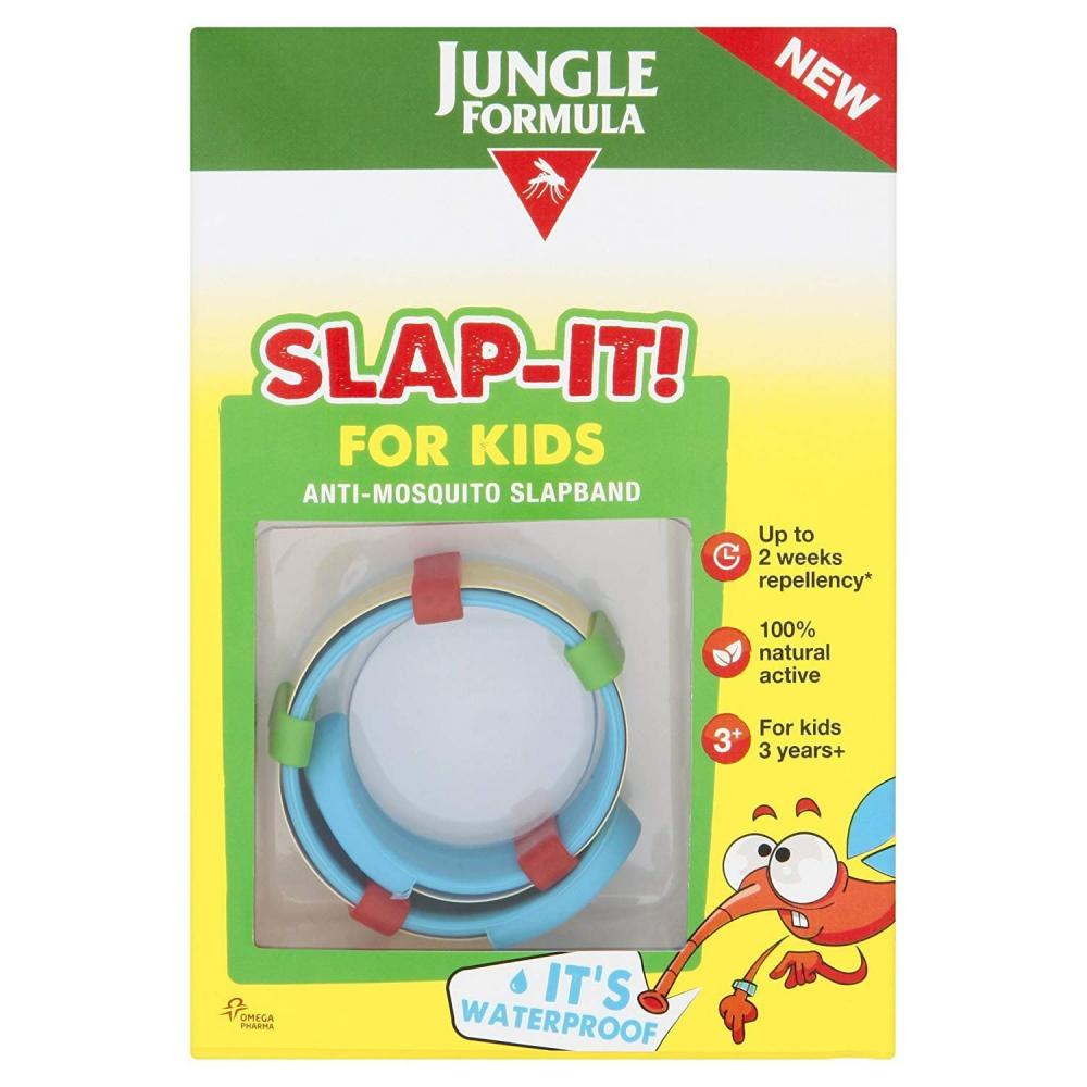Jungle Formula For Kids Slapband Insect Repellent